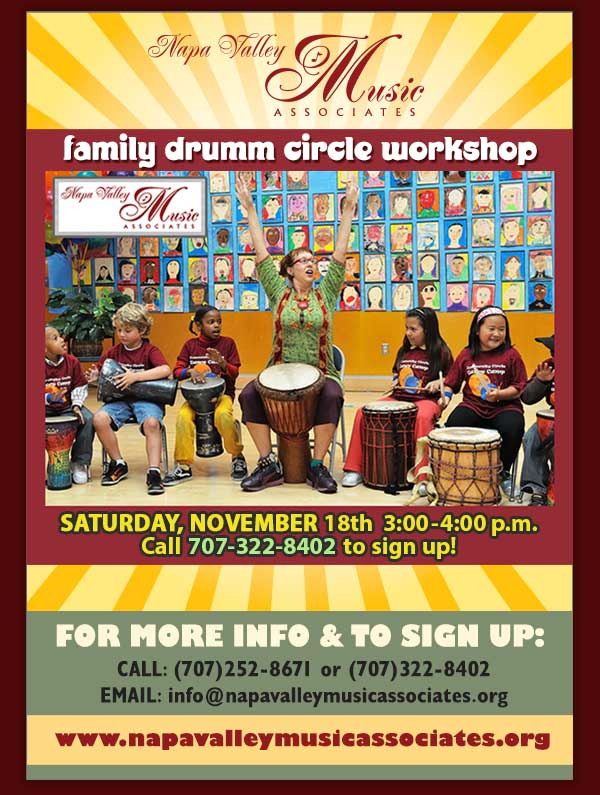 Famiily Drumm Circle Workshop